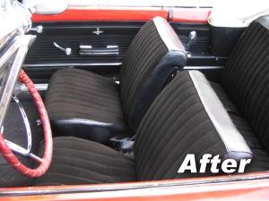 Car Interior Fabric Design