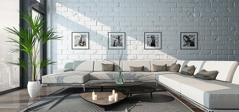 Lovely living room w