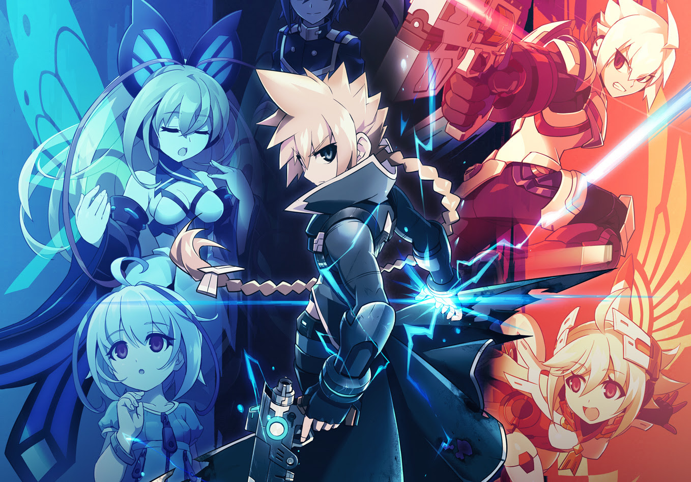 Azure Striker Gunvolt: Striker Pack is coming to the Switch screenshot