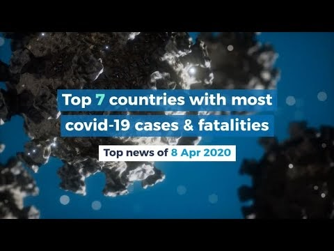 countries with most covid-19 cases & fatalities Top news global
