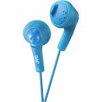 JVC HA F160-A Gumy Earbud Earphones - Blue
