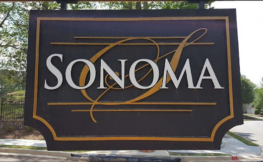Alpharetta Sonoma New Gated Townhome Community - Alpharetta Homes-Neighborhood Pictures