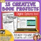 Creative Book Reports w/ Student Instructions & Grading Rubrics