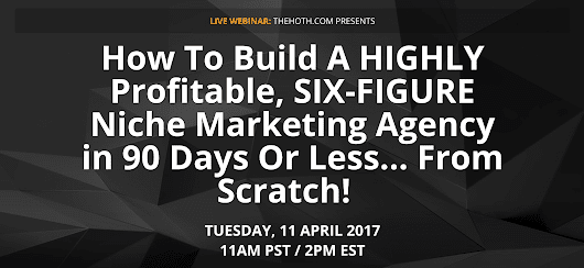 Join Us Live: How To Build a Niche Marketing Agency!