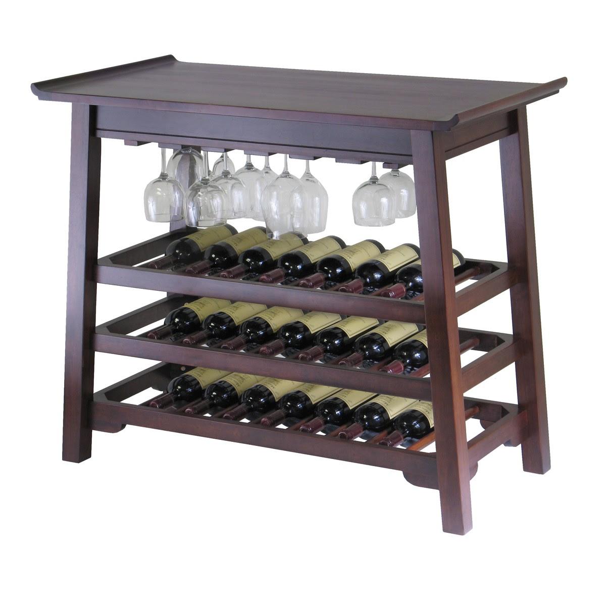Table Top Wine Rack A Creative Mom