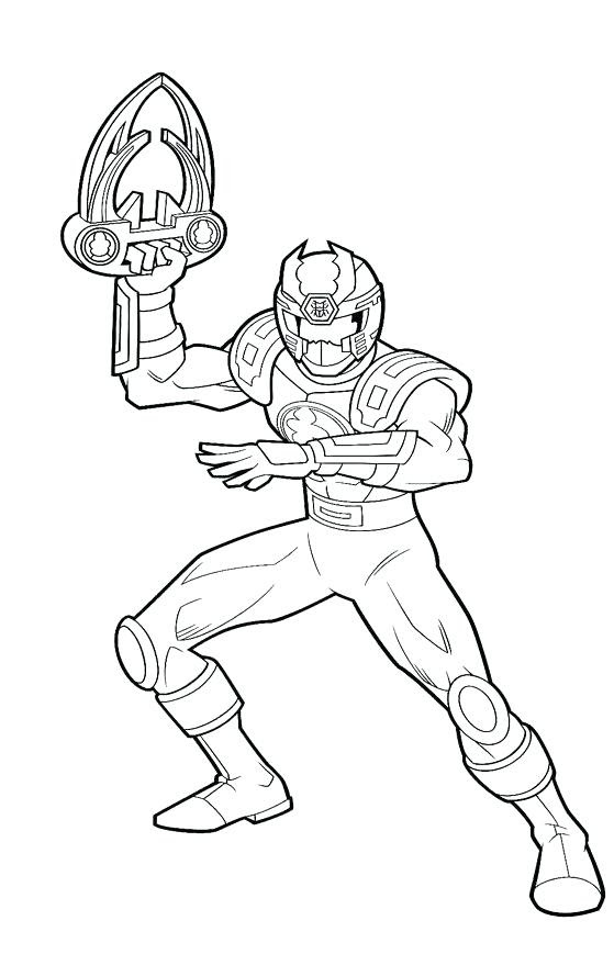 Lego Power Rangers Coloring Pages At Getdrawingscom Free For