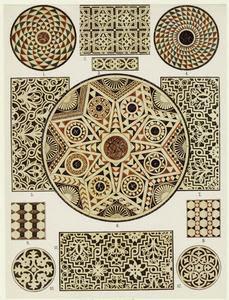 Byzantine marble mosaic floors... Digital ID: 818879. New York Public Library