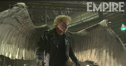 'X-Men Apocalypse' Pictures Show Off Angel's Wings, New Outfits and Oscar Isaac's Villain - XMenApocalypseOnline.com