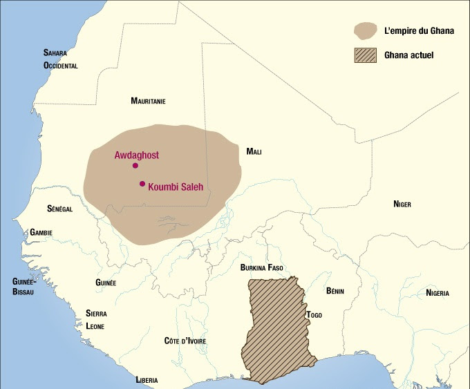 Le 3 Grands Empires Ghana Mali Songhai
