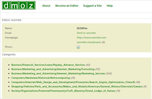 DMOZ June 5th, 1998 - March 14th, 2017 RIP Mozilla
