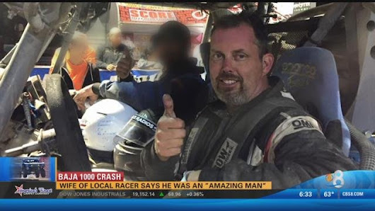 Wife of Baja 1000 racer says he was an amazing man
