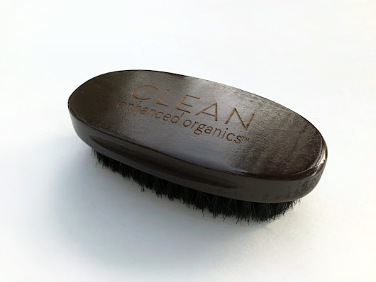 CEO Men's Beard Brush - Clean Enhanced Organics