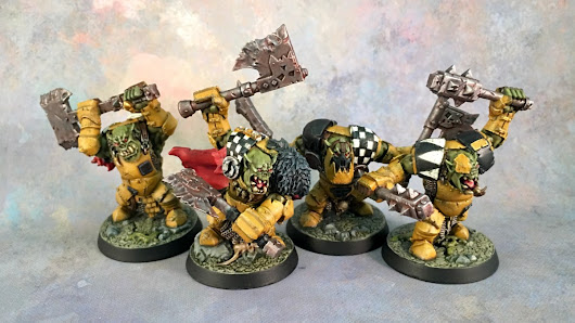 It came from the lightbox: Shadespire Ironjaws