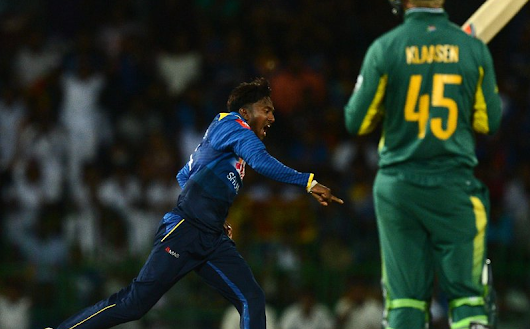 Sri Lanka take final ODI to end five-match series 3-2 against South Africa