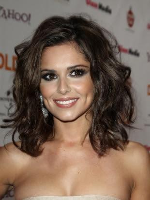 Cheryl Cole Wavy Hairstyle