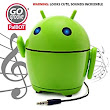 Amazon.com: GOgroove Pal Bot - the Rechargeable & Portable Android Styled Speaker System for Smartphones , Tablets , MP3 Players , Laptops , And More Devices!: MP3 Players & Accessories