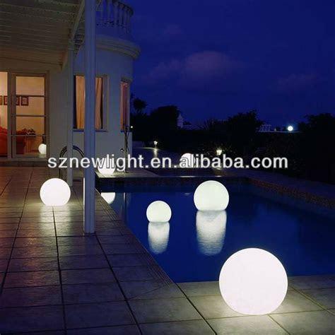 Rgb Color Change Solar Glow Balls Led Floating Pool