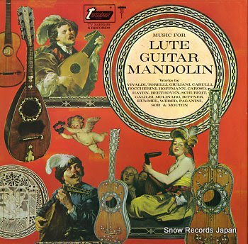 V/A music for lute guitar mandolin