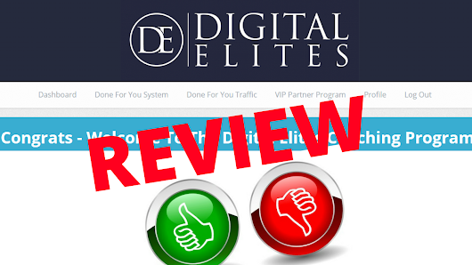 The Digital Elites Review - Is This Program By Chuck Nguyen Any Good?