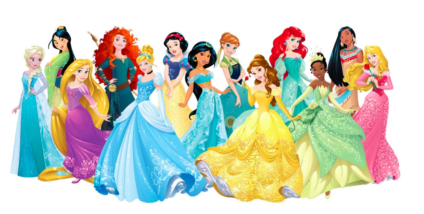 13 Princesses 2015 redesign - Disney Princess Photo ...