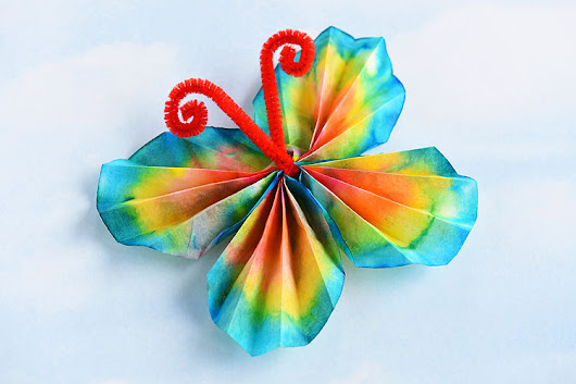 Coffee Filter Butterflies | The Classic Craft Using Washable Markers