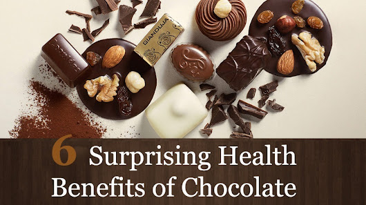 6 Surprising Chocolate Health Benefits That Will Amaze You - Infographic - I Got Crazy