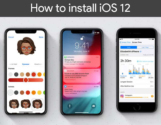 How to install iOS 12 Public beta on any iPhone X,8,7