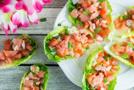 Lomi Lomi Salmon Recipe - Just 4 ingredients!