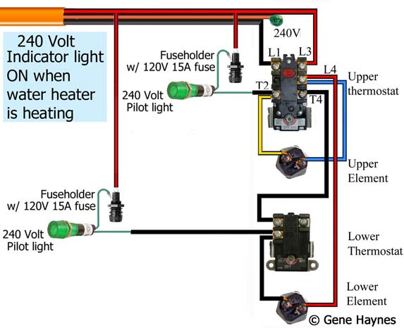 120v Line Voltage Thermostat Wiring Diagram