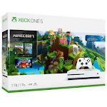 Xbox One S 1tb Console - Minecraft Complete Adventure Bundle