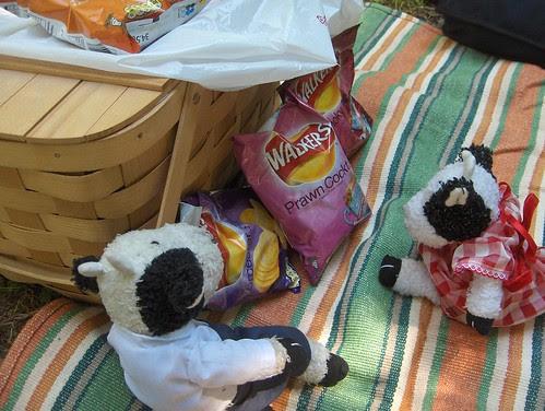 Wow, I got a whole buncha British crisps!