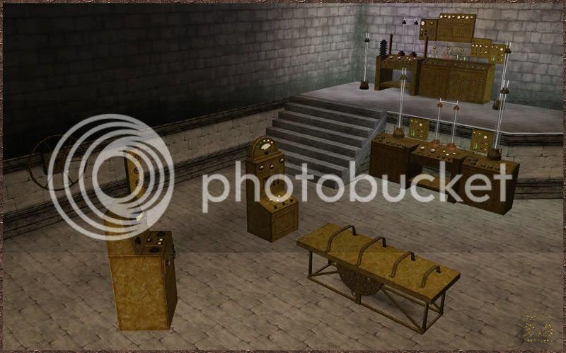 Dr. Frankenstein Lab I. D&M Creations - Demonic. Sims 3