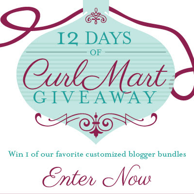 Enter to win Curly Hair prizes: CurlMart December Giveaway http://www.naturallycurly.com/giveaways/CurlMart-December-Giveaway