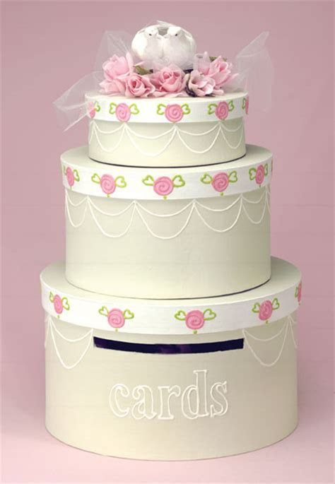 Wedding Cake Card Box   FaveCrafts.com