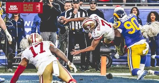 49ers↔QB/Colin Kaepernick # 7 Clutch performer