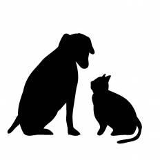 Japan-Image: 猫 イラスト 無料 シルエット