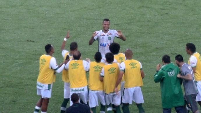 Fluminense x Chapecoense gol Thiego (Foto: Sofia Miranda)