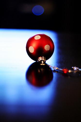 Christmas polka-dots