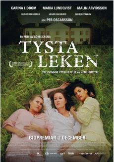 Poster Tysta leken (2011)