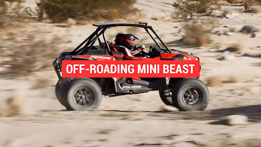 This Polaris off-roader is a mini beast - Autoblog