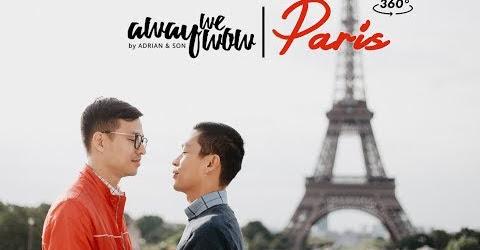 Away We Wow   Paris in 360º (360 VR travel video)