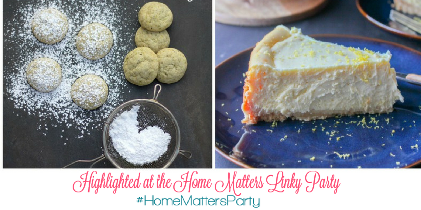 Come join the fun and link your blog posts at the Home Matters Linky Party 130. Find inspiration recipes, decor, crafts, organize -- Door Opens Friday EST.