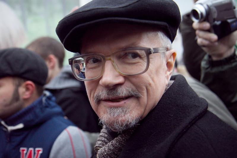 """Акция """"Стратегии-31"""" на Триумфальной площади в Москве, 31 марта 2012"""