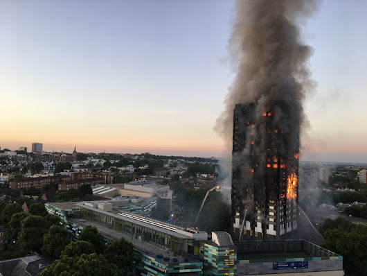 RIBA Releases Statement Addressing Grenfell Fire Tragedy