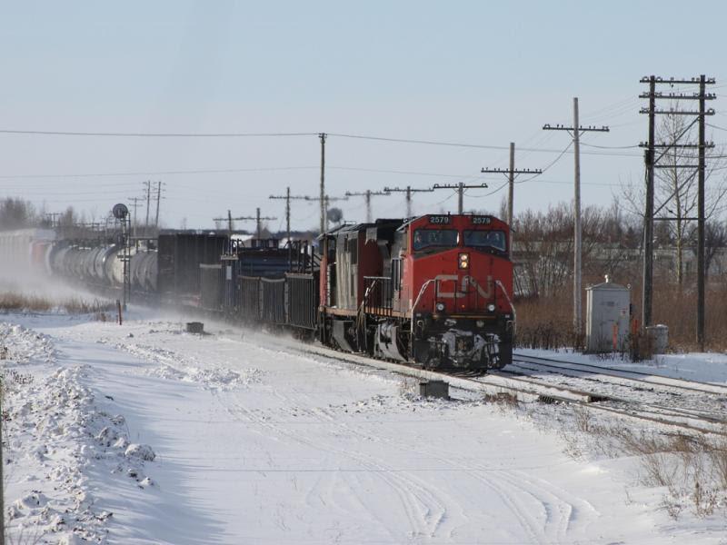 CN 2579 in Winnipeg