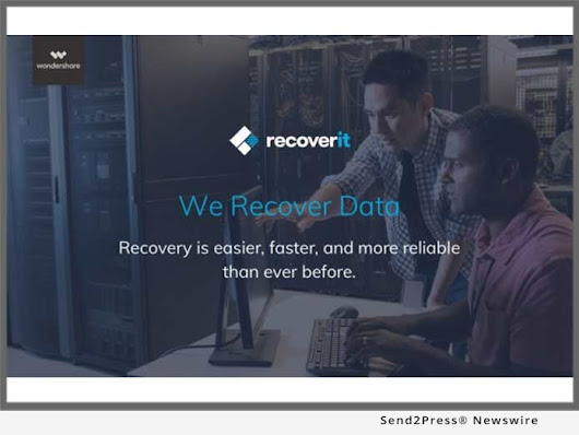 Recoverit Offers the Safest and Most Reliable Partition Recovery Solution in the Industry | Send2Press Newswire