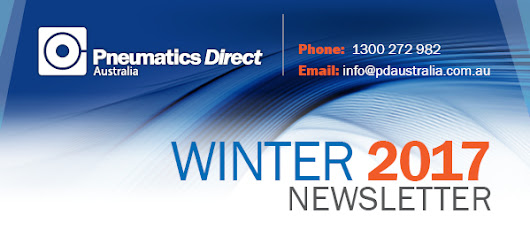 PD Winter News | Designing efficient pneumatic systems, Valves enhancing machine & worker safety, new PD website & new Clippard electronic valves.