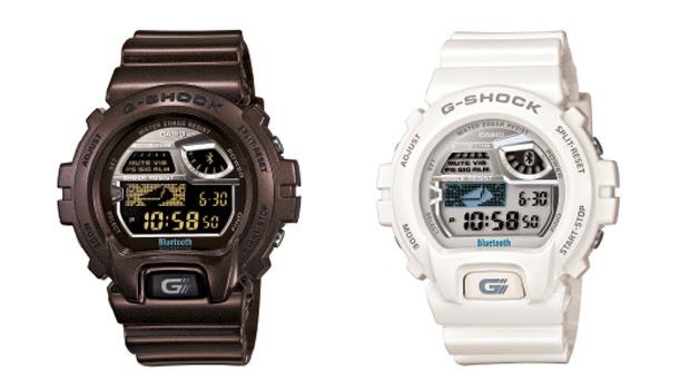 Relógios da Casio possuem integração com o iPhone por meio do Bluetooth (Foto: Divulgação)