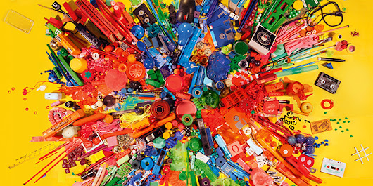 Turning Garbage Into Art Is This Photographer's Life's Work | Raw File | WIRED