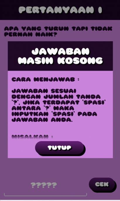 koleksi teka teki lucu indonesia terbaru gambargambarco